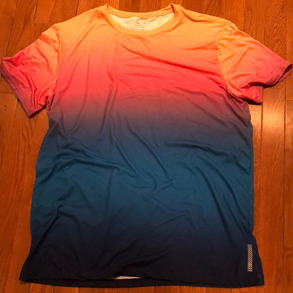 855eb4f84 American Eagle Outfitters Other - NWOT AE Active 360 Extreme Flex Rainbow  Tee Large